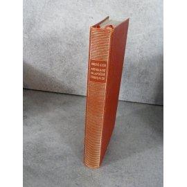Collection Bibliothèque de la pléiade NRF André Gide Anthologie de la poésie Française collector 1956