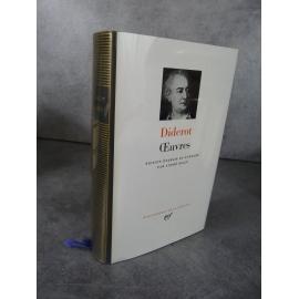 Collection Bibliothèque de la pléiade NRF Diderot Oeuvres André Billy bel exemplaire ancienne édition épuisée