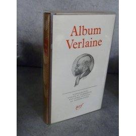 Collection Bibliothèque de la pléiade NRF Album Verlaine avec son emboîtage transparent d'origine rare en cet état