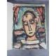 lot Revue Verve dont N° 5/6 sur la figure humaine avec les lithographies de Rouault, Braque, Derain, Léger, Matisse