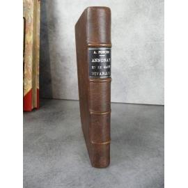 Poncer Annonay et le haut Vivarais Chez l'auteur 1835 Rare impression de Louis Perrin à Lyon
