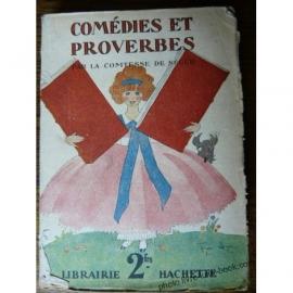 COMTESSE DE SEGUR COMEDIE ET PROVERBES LORIOUX 1934