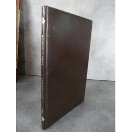 De Wignacourt Thoisy La Berchère 1913 Plein box brun fort bel exemplaire rare en cette condition.