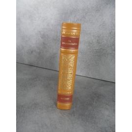 La Rochefoucauld Maximes Collection Garnier Prestige pleine reliure cuir éditeur tête dorée
