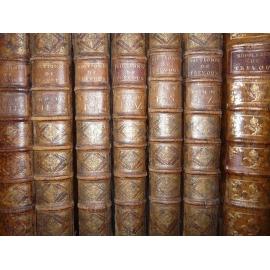 Dictionnaire de Trévoux Latin Français 1743 6 vol + supplément Linguistique ethymologie