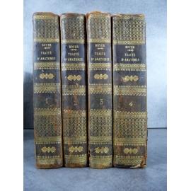 Boyer traité complet d'anatomie Paris Migneret 1810 4/4 Médecine chirurgie Lyon la charité. .
