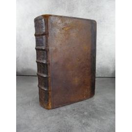 Vie des prophètes avec des réflexions Lyon 1685 impression ancienne, reliure d'époque.