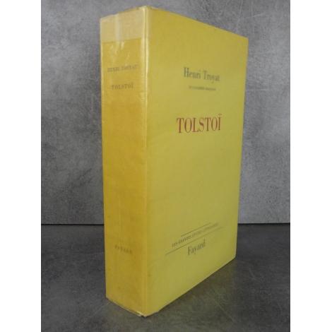 Troyat Henri Tolstoï Fayard Edition originale, un pavé en grand papier non coupé, à l'état parfait de neuf.