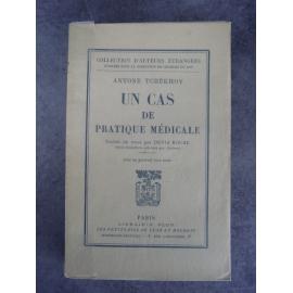 Tchékhov Antoine Un cas de pratique médicale édition originale française de Denis Roche parfaite condition sur pur fil