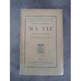 Tchékhov Antoine Ma vie 1ere traduction française traduction de Denis Roche parfaite condition papier d'édition .