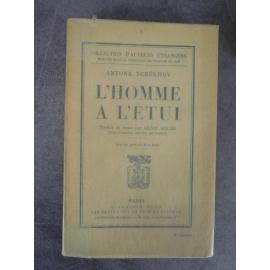 Tchékhov Antone [Anton] L'homme à l'étui 1ere traduction française de Denis Roche parfaite condition papier d'édition .