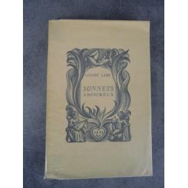 Louise Labé Les sonnets amoureux illustrés Valentin le campion Paris Belier 1943