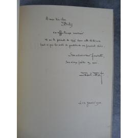 Paul Fort L'arche de Noé envoi au peintre et portraitiste Aaron Bilis. Klein Hors commerce