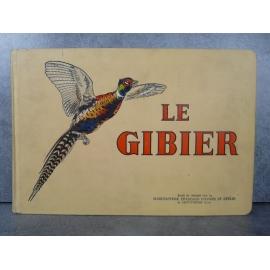 Le gibier Manufrance bel exemplaire de 1939, superbes gravures d'annimaux en couleur, chasse, écologie, faune