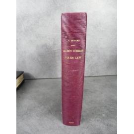 Oudard La très curieuse vie de Law Aventurier Edition originale sur papier hollande reliure maroquin