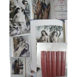 Voltaire Contes et romans illustrés par Bécat Candide Zadig L'ingénu... Illustré moderne complet numéroté 1951