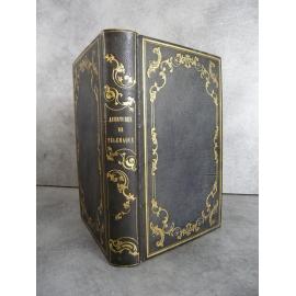 Fénelon Télémaque Gravures de V. ADam Guesde Reliure romantique 1840