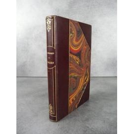Mérimée Prosper Carmen Vuillier Illustrations à l'eau forte Ferrpoud 1911 reliure maroquin bibliophilie .