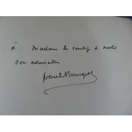 Paul Bourget Cosmopolis, 1893 Edition originale envoi à Sibylle Gabrielle Riquetti de Mirabeau Comtesse de Martel dite Gyp