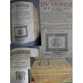 Pline second L'histoire du monde [histoire naturelle] mis en Français par Antoine du Pinet Jacob Stoer 1625