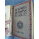 Bédier Joseph Le roman de Tristan et Iseut Belle reliure plein veau Piazza édition d'art.