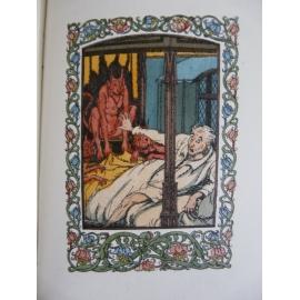Anatole France Maurice Lalau Le miracle de la pie Ferroud 1921 illustré couleur