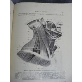 Testut Traité d'anatomie humaine Paris Edition originale Tome 1 1893 figures anatomiques