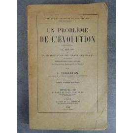 Vialleton Dédicacé Evolution Récapitulation forme ancestrale loi de Haeckel Développement Embryonnaire Darwin