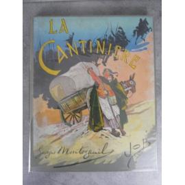 Montorgueil illustré par Job La Cantinière dans un grand cartonnage superbe reliure de Engel bel exemplaire.