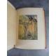 Cervantès Don Quichotte Aquarelles de Giffey Cartonnage polychrome grand format Bel exemplaire 1925