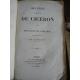 Cicéron Oeuvres Panckoucke 1830-1835 Complet en 36 volumes Bilingue Latin Français en regard