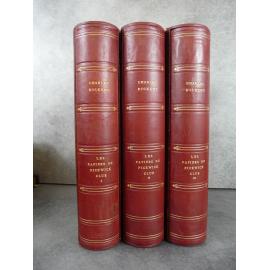 Dickens Les papiers posthumes du Pickwick club illustrés Berthold Mahn Imprimerie numéroté lithographie Beau livre état de neuf