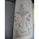 Manuscrit plan cahier de dessin de Joseph Govin 1883 1885 Quimper Bretagne Grande qualité de trait beau travail