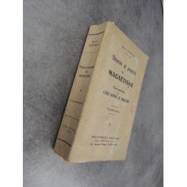 Durville Hector Théories et procédés du magnétisme cours profesé à l'ecole pratique Bibliothèque Eudiaque