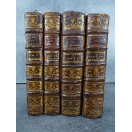 Virgile Catrou Poésies de Virgile Latin Français Complet des 18 gravures de Scotin et de la Carte.