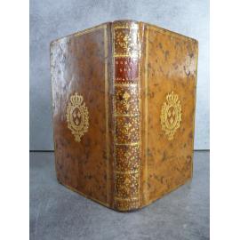 Essai sur l'écriture sainte, langues orientales polyglotte reliure aux armes de Louis XVI Edition originale.