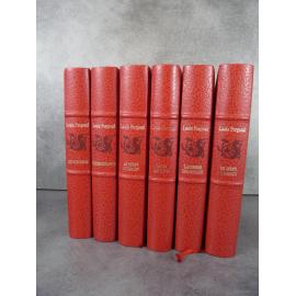 Louis Pergaud Illustré numéroté édition Martinsart 1990 complet en 6 volumes La Guerre des boutons Etat de neuf.