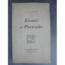 Blanche Essais et portraits Bibloiophiles fantaisistes Fantin Latour, Forain Aubrey Beardsley Manet Watts