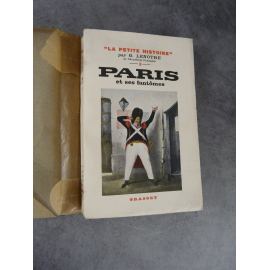 """Lenotre Paris et ses fantômes """"la petite histoire"""" Grasset 1933 Anecdotes Parisiennes"""