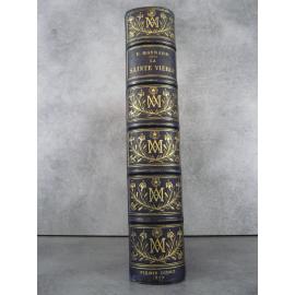 Maynard La sainte vierge 1877 Chromolithographies, Gravures, bel exemplaire très frais.