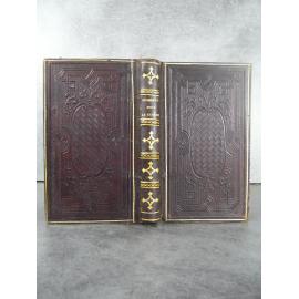 Avrillon Conduite pour passer saintement le temps du Carème remliure pleine basane estampée à froid. 1866 veau estampé