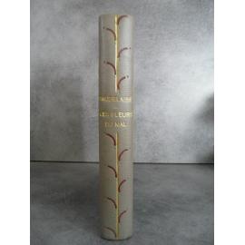 Baudelaire Les fleurs du mal Laboccetta illustrateur reliure art nouveau 1935