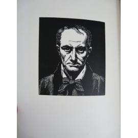 Baudelaire Les fleurs du mal Drouart Raphaël illustrateur art nouveau 1923