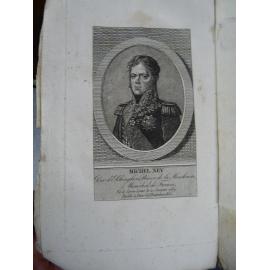 La vie du Marechal Ney Anonyme Maizeau Edition originale Portarit et fac similé autographe Empire Napoléon.