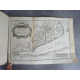 Voyage de Niebuhr en Arabie et pays de l'orient en Suisse 1780 6 cartes dépliantes quelques gravures