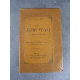 Jean Jullien Le théatre vivant, essai théorique et pratique, L'echéance , la sérénade, 1892 Le 4 des 10 sur papier de Hollande.