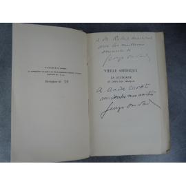 Georges Oudard Vieille Amérique La Louisiane au temps des Français Le 10 des 30 papier de Hollande avec double dédicace