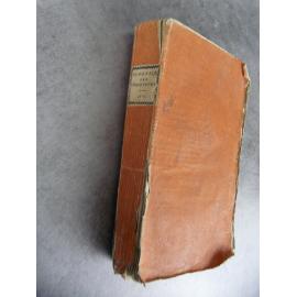 Almanach des prosateurs pièces fugitives en prose 1801 Révolution humour pamphlets Reliure brochage