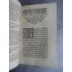 Du Préau Gabriel Remonstrance et exortations non moins docte Controverse Luther Edition originale rare 1574 .