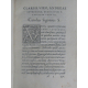 4 rares impressions de Venise 4 Rare stampate di Venezia Caroli Sigonii, Zamoscii Ioannis Sarii, Stanislao Ilovio polono